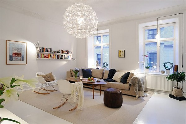 30 Scandinavian Living Room Designs With a Mesmerizing Effect