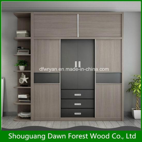 China Home Furniture Modern Wardrobe Design - China Wardrobe, Show Case