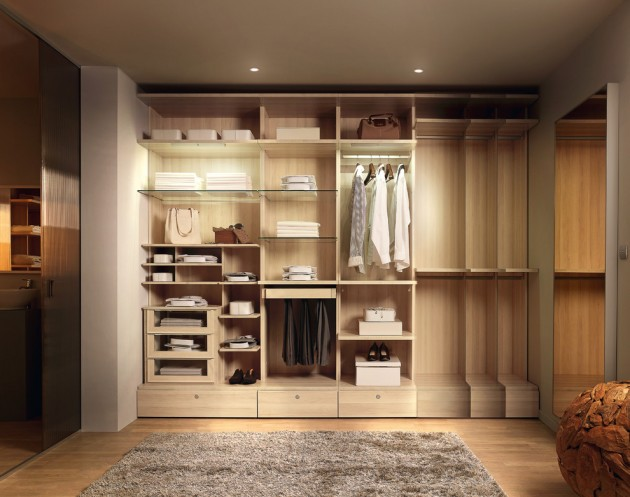 15 Clean And Tidy Modern Wardrobe Designs To Store Your Clothes In