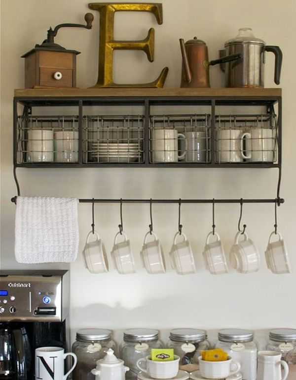 Clever And Space-Saving Hanging Systems For Mugs