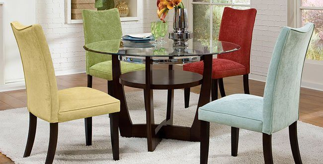 Multicolored Chairs For Dining Room Savillefurniture