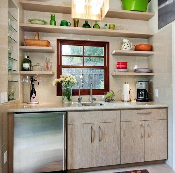 Kitchen Ideas Open Shelving Open Shelving Always Looks Inviting In