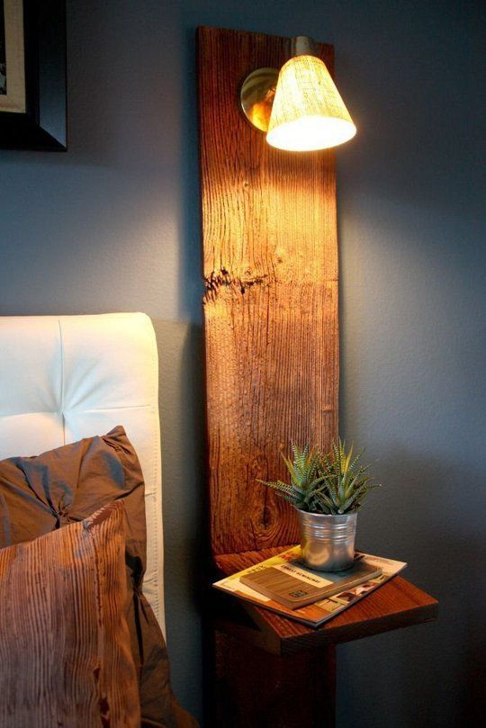 Small Space Solutions: 11 Space-Saving Nightstand Ideas | {bedroom