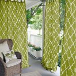 Outdoor Curtain Ideas Make Garden Colorful