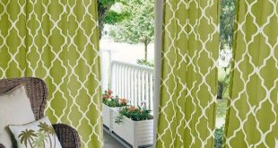 50 Pretty Outdoor Curtain Ideas Make Garden Colorful | Decks | Panel