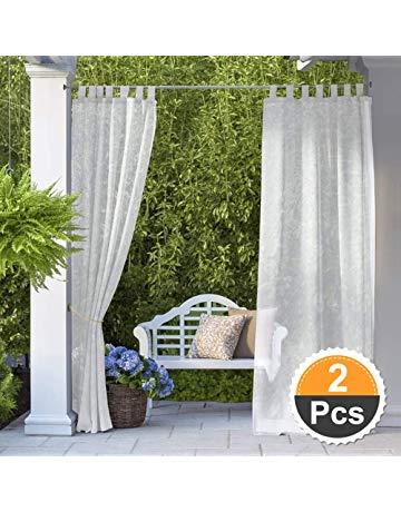 Outdoor Curtain Ideas Make Garden Colorful 6