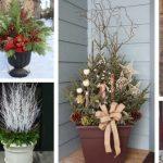 Outdoor Holiday Planter Ideas
