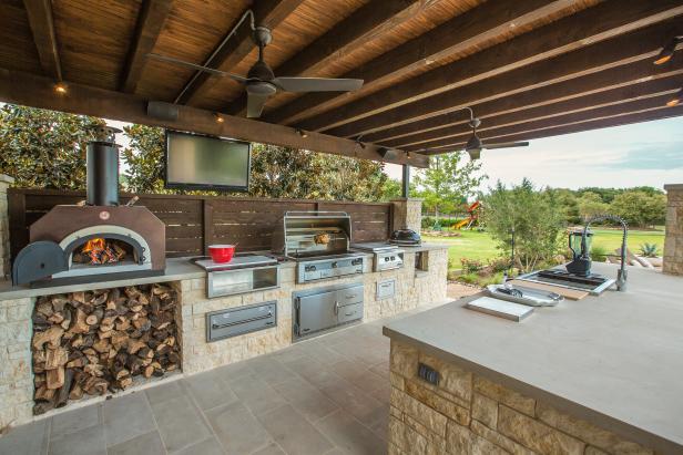12 Gorgeous Outdoor Kitchens | HGTV's Decorating & Design Blog | HGTV