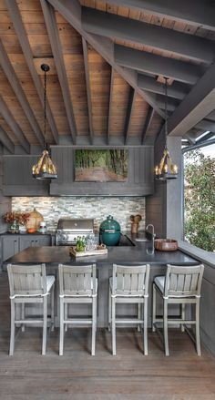 Outdoor Kitchen Decor Ideas