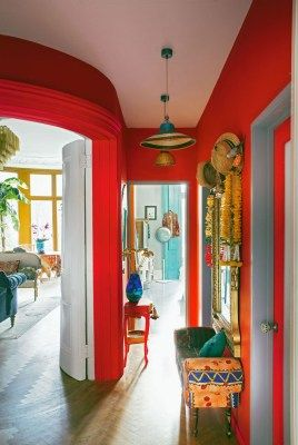 42 Outstanding Bohemian Hallway To Inspire Today | Home | Home Decor