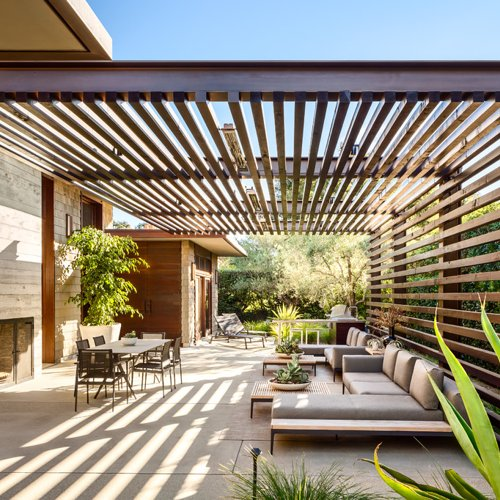 75 Most Popular Patio with a Pergola Design Ideas for 2019 - Stylish