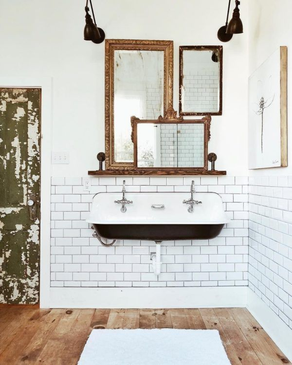 100 Cozy Farmhouse Bathroom Decor Ideas You Can Easily Copy | FUTURE