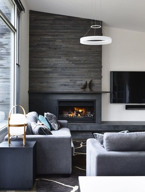 Popular Fireplace Design Ideas 15 | house renovations | Pinterest