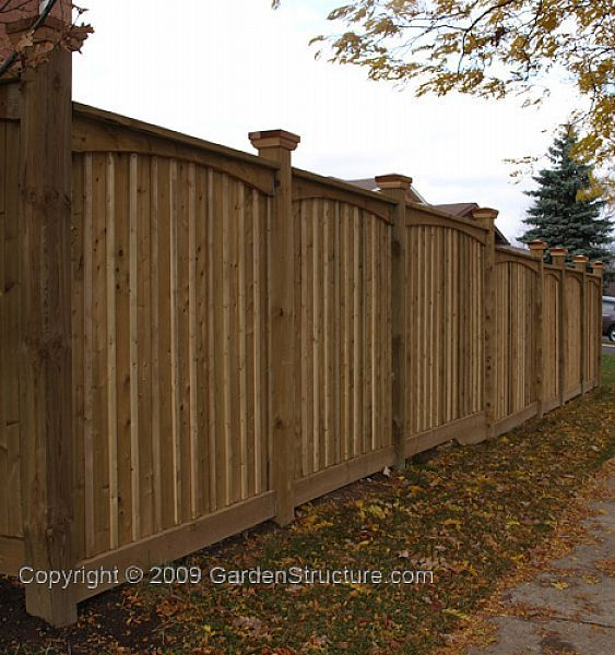 New Fence Designs in Plans - Working Drawings | Fence | Privacy