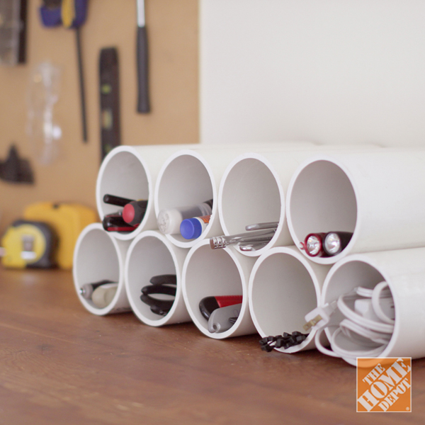 Pvc Pipe Organizing Storage Ideas 6