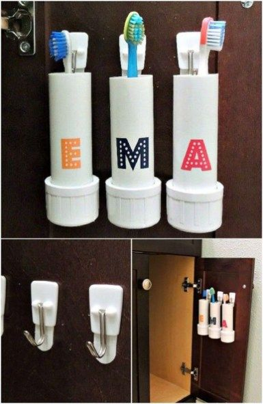 35 Admiring Pvc Pipe Organizing Storage Ideas | PVC crafts , toys