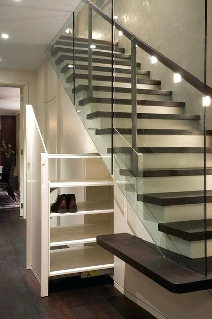 Under Stairs Shoe Storage Solutions Under Stair Storage Design Ideas