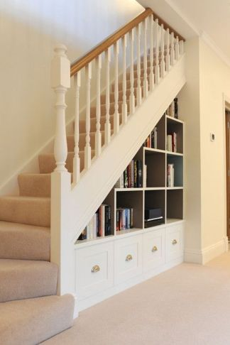 90 Cool Ideas to Make or Remodel Storage Under Stairs | Dream home