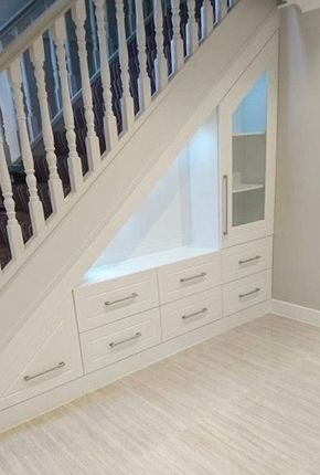 90 Cool Ideas to Make or Remodel Storage Under Stairs | DIY things
