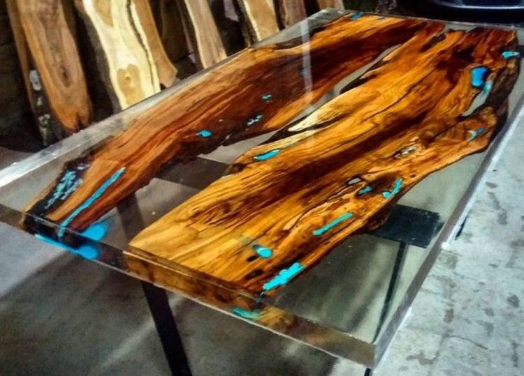 75+ Wonderful Resin Wood Table for Your Home Furniture Decor Ideas Post