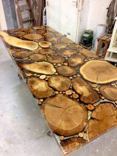 Amazing Resin Wood Table for Your Home Furniture | Got wood