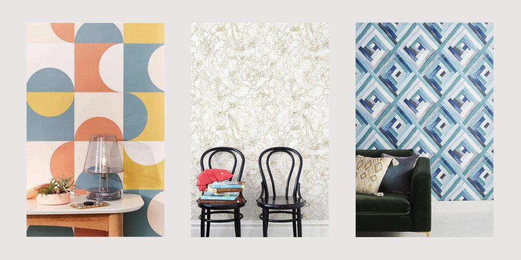 Retro Wallpaper Decor Ideas 1