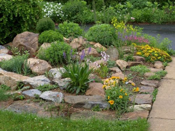 20 Rock Garden Ideas and A Guide on How to Build Your Own