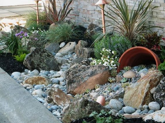 21 Landscaping Ideas for Rocks, Stones and Pebbles Fit into an