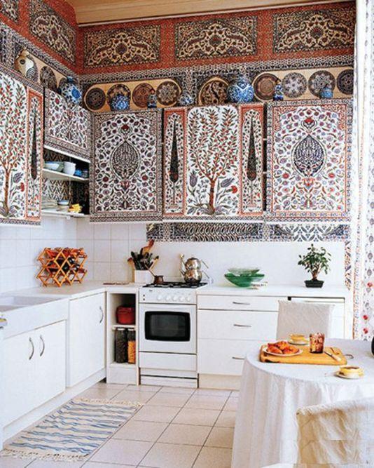 Rustic Bohemian Kitchen Decorations Ideas 31 in 2019 | Home Decor