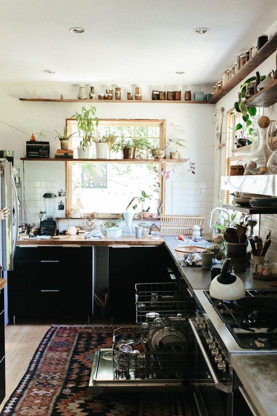 21 Bohemian Kitchen Design Ideas - Decoholic