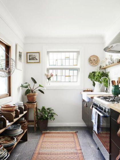 Rustic Bohemian Kitchen Decorations Ideas 36 in 2019 | Home Decor