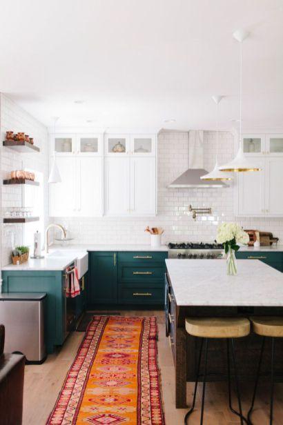 Rustic Bohemian Kitchen Decorations Ideas