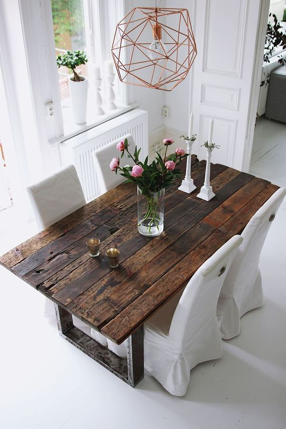 75 Modern Rustic Ideas and Designs | house | Dining room, Rustic