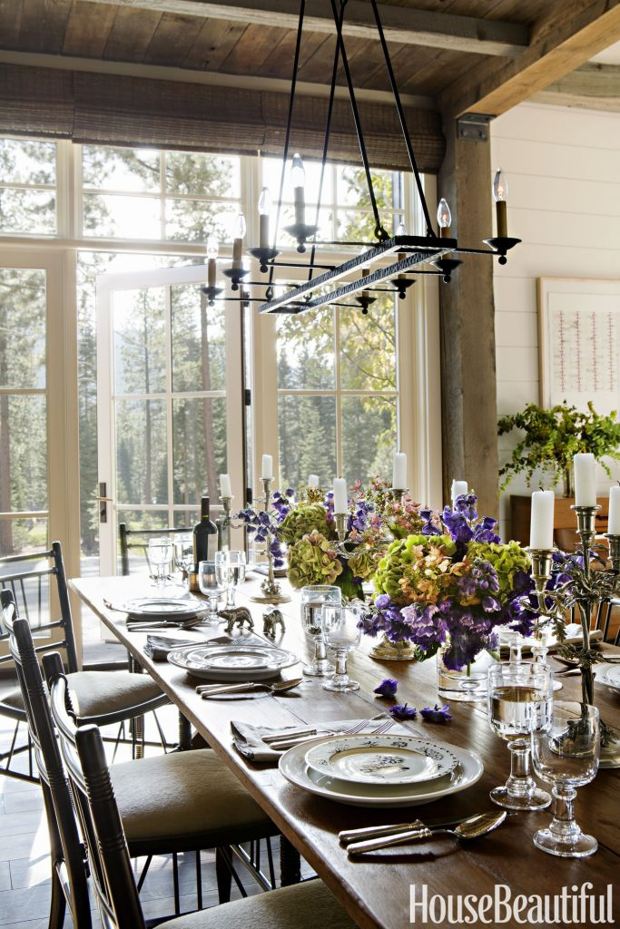 Rustic Dining Room Designs 7