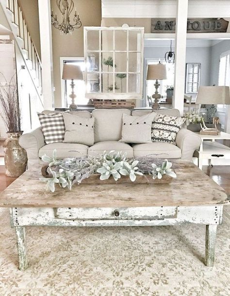 Modern Farmhouse Home Decor Blog | Farmhouse Living Rooms