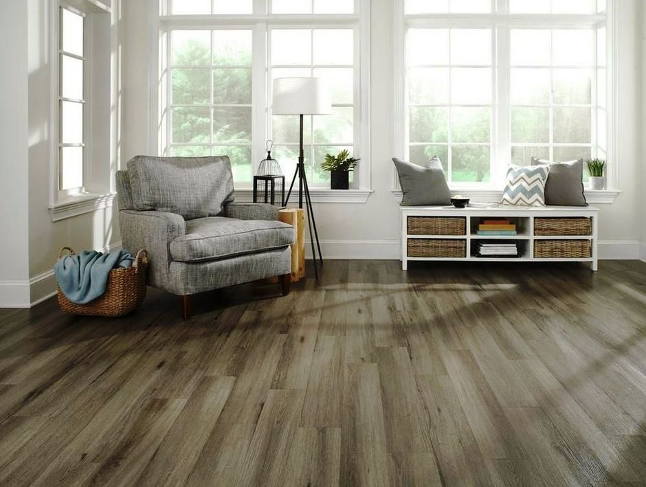 50 Rustic Natural Wooden Vinyl Planks for Home Interior Flooring