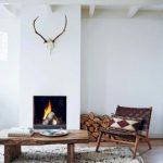 Scandinavian Fireplace To Rock
