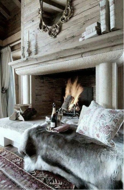 Lovely Scandinavian Fireplace To Rock This Year 09 | My inspirations