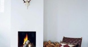 42 Lovely Scandinavian Fireplace To Rock This Year | Home decor