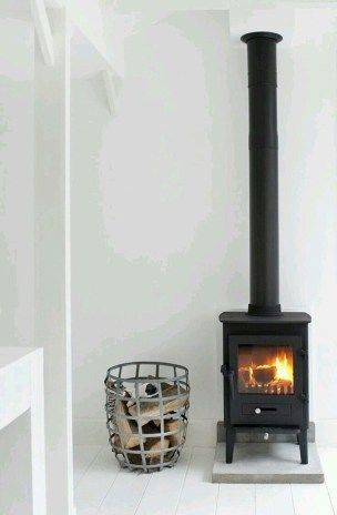 42 Lovely Scandinavian Fireplace To Rock This Year | Bungalow