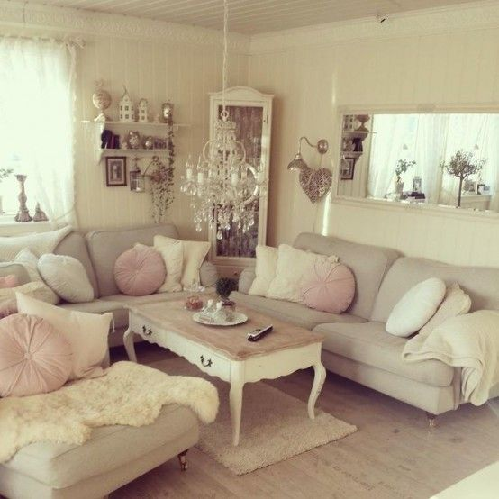 Top 18 Dreamy Shabby Chic Living Room Designs | Best DIY projects