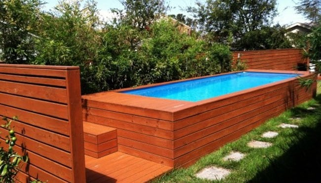 How to Build a Shipping Container Swimming Pool