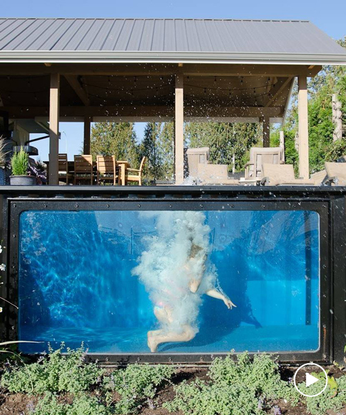take a dip in modpools' shipping container swimming pool