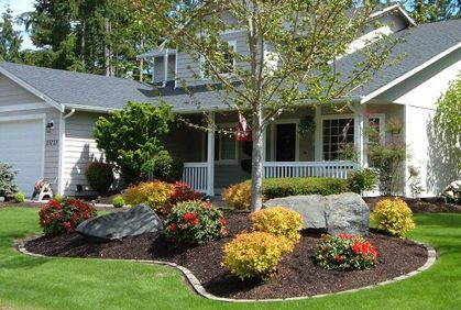 Simple Front Yard Landscaping Design Ideas