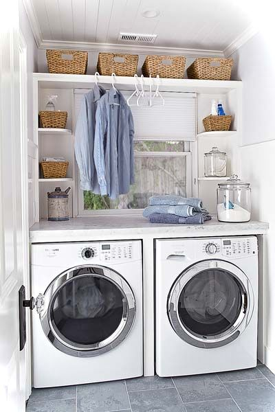 Laundry Room Decor Ideas For Small Spaces - Small House Decor