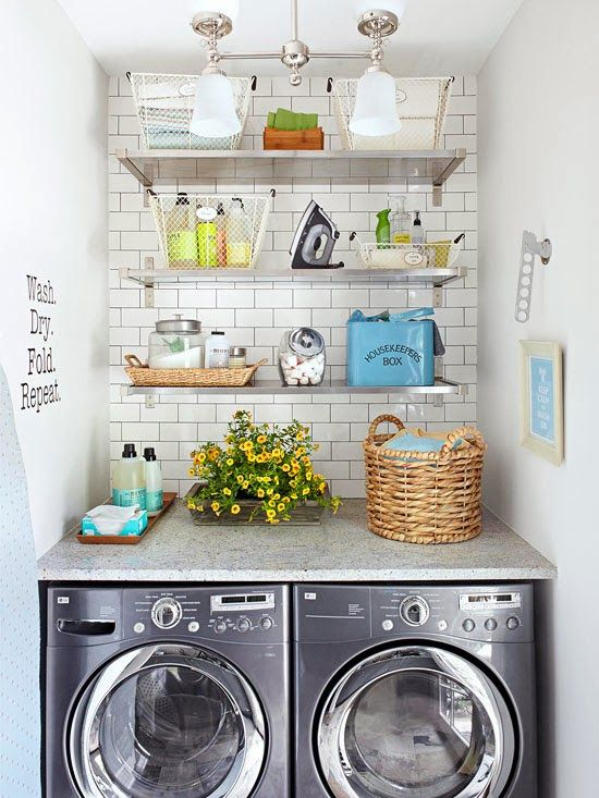 40 Small Laundry Room Ideas and Designs u2014 RenoGuide - Australian