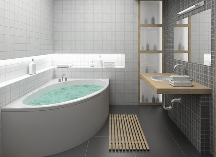 Simple Minimalist Bathroom 3