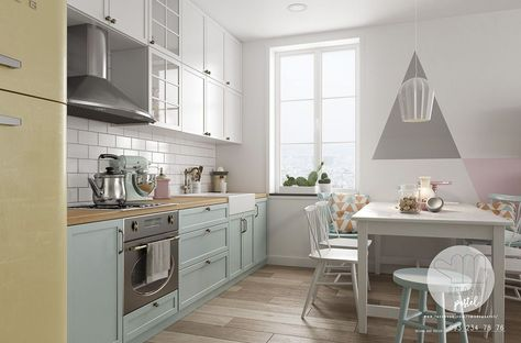 46 Simple Modern Scandinavian Kitchen Inspirations | Kitchen Design