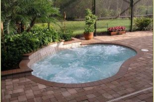 Simple And Elegant Pool For Your Home 40 | Pools | Small inground