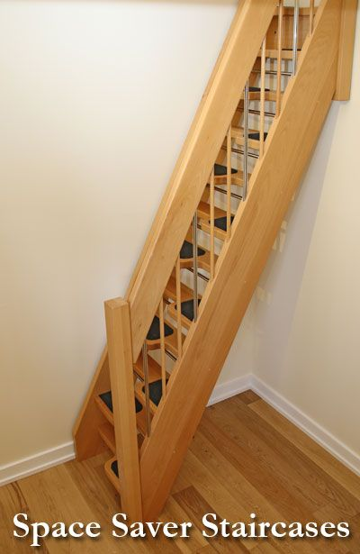 space saver staircases that is perfect for a tiny house. | home
